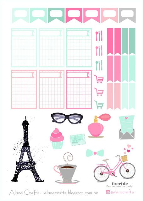 FREE Alana Crafts: Freebie Paris!