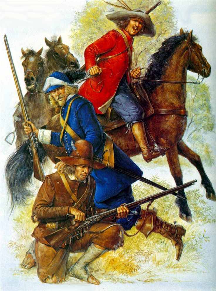 Swedish troops during the Thirty Years War