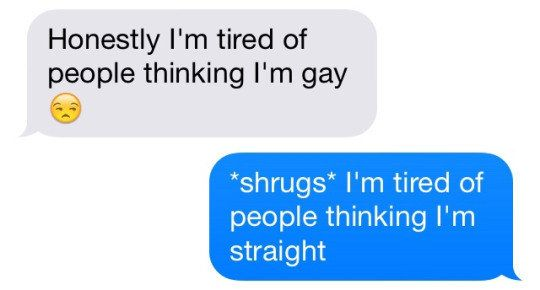 This unreal plot twist: | 15 Coming Out Text Messages That Will Give You Life