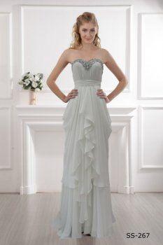 Robe blanche A-ligne blanche une épaule robe robe blanche bustier