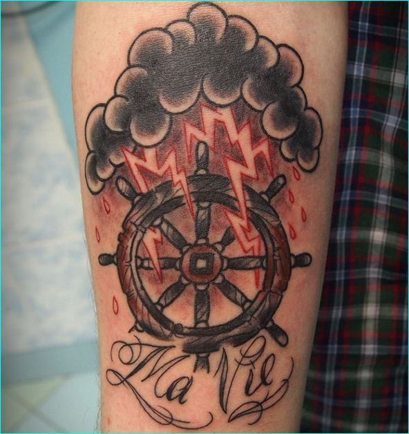 Us Navy Tattoos On Pinterest: 26 Best Navy Tattoos Which Will Make You Go Sailing Images