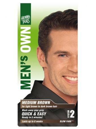 HennaPlus Prírodná farba pre mužov Hnedá - Prírodná kozmetika a BIO kozmetika