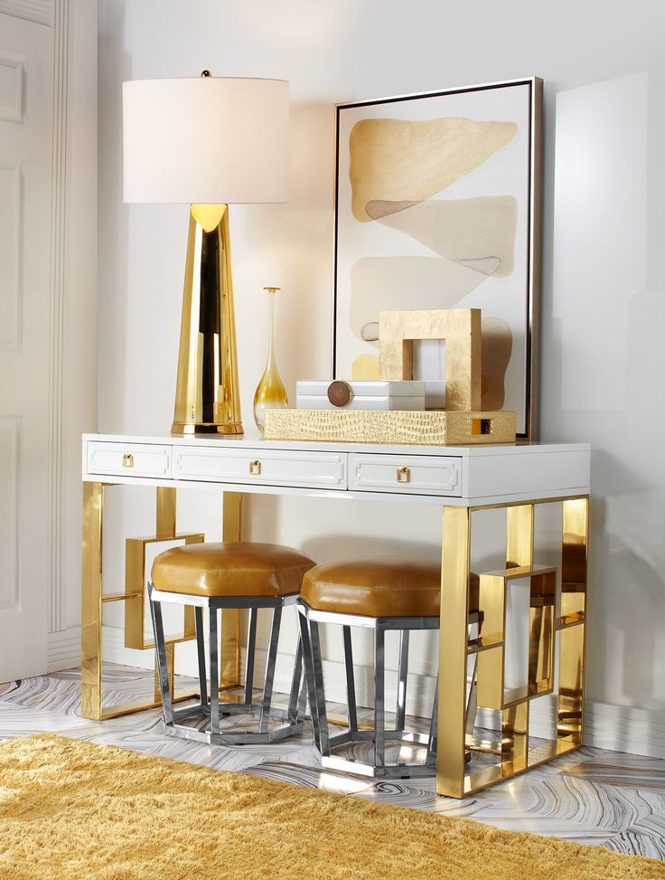 Entryway 4 Ways Gold