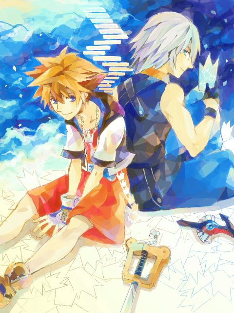 Kingdom Hearts - Riku x Sora