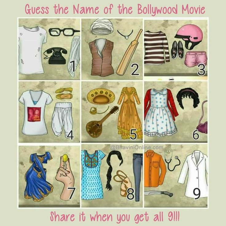 WhatsApp Riddle Guess Names of Bollywood Movies From the