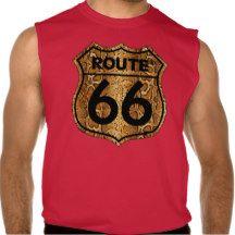 Sing route 66 desing gifts playeras sin mangas