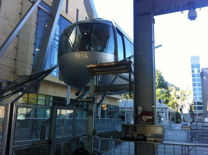Portland Aerial Tram - Lower Terminal in Portland, OR