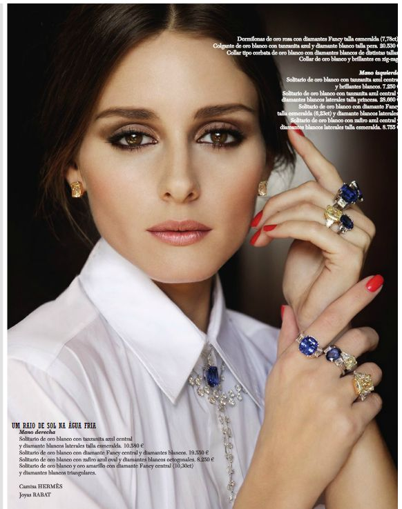 THE OLIVIA PALERMO LOOKBOOK: OLIVIA PALERMO- @Emily Mary