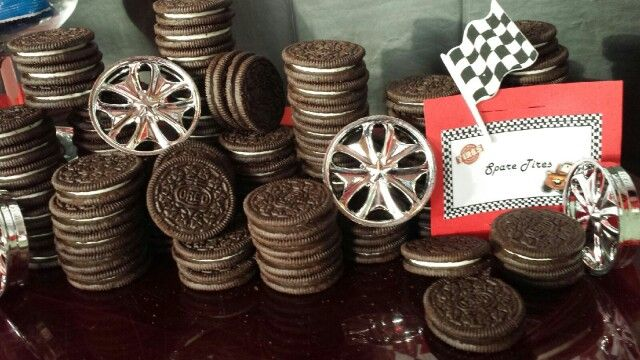 Quot Spare Tires Quot Oreo Cookies We Did This Pinterest