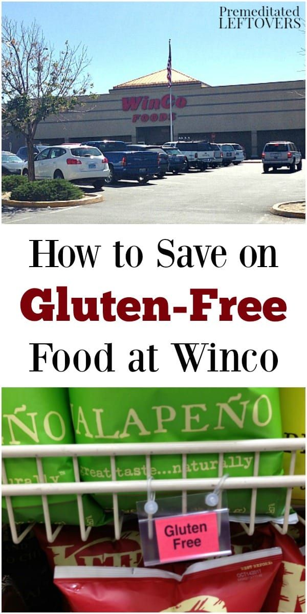 Winco has a lot of great, affordable glutenfree options