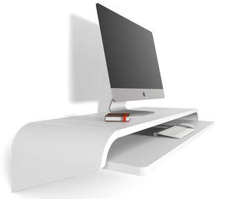 Orange 22 Minimal Float Wall Desk | 2Modern Furniture & Lighting