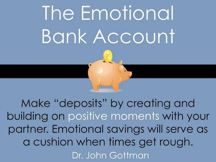 Instead of focusing on making financial withdrawals for expensive gifts this holiday season, let's work on making deposits into our emotional bank accounts. Read more on The Gottman Relationship Blog.
