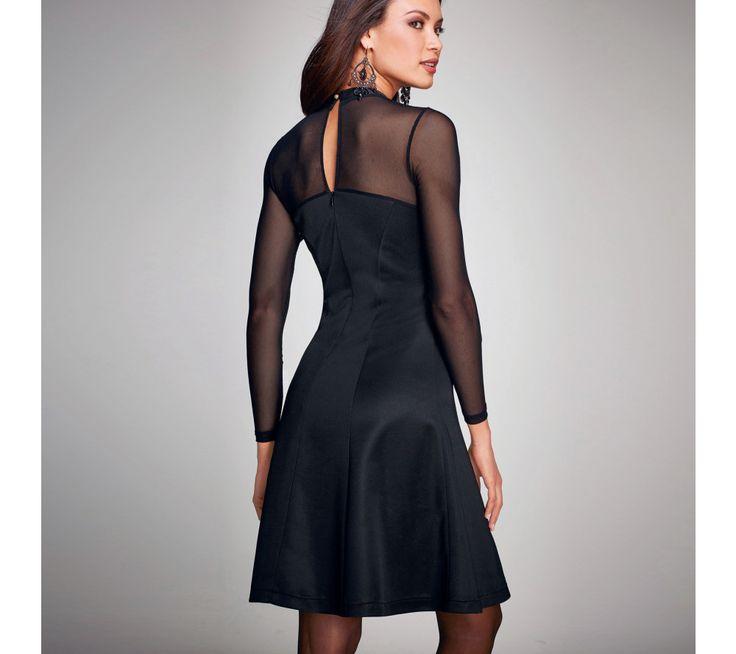 Šaty s polotransparentními vsadkami   vyprodej-slevy.cz #vyprodejslevy #vyprodejslecycz #vyprodejslevy_cz #dress
