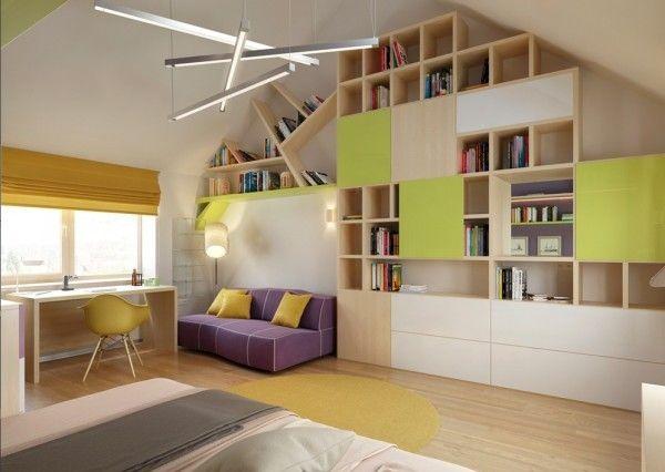 12 ideen f r kinderzimmer mit coolen eingebaute einheiten kinderzimmer wohnideen. Black Bedroom Furniture Sets. Home Design Ideas