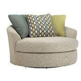 Found it at Wayfair - Bradfield Oversized Swivel Barrel Chair