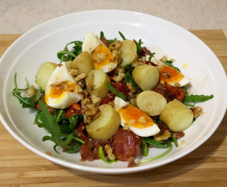 Recipe Paleo warm potato salad by Nazz - Recipe of category Main dishes - others