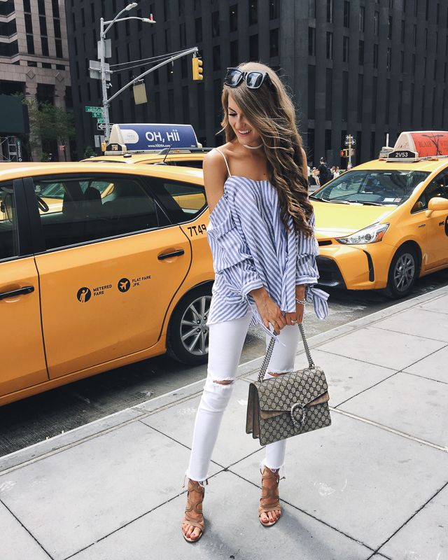perfect spring/summer outfit for NYC