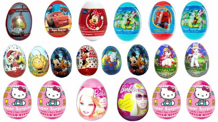 20 Toy Story surprise egg, Masha i medved, Kinder Surprise egg, Mickey Mouse club house Surprise egg, Funny Movers, Monsters, киндер сюрприз, Hello Kitty surprise egg, minnie mouse, disney, #Surpriseeggs #Toys #Disney #KinderSurprise #Surprise #Toy #PlayDoh #Animation #EasterEgg #Eggs #MyLittlePony #HelloKitty #Sanrio #Chocolate #PeppaPig #MU #Video #Birthday #MickeyMouse #Pluto #Duck #Baby #News #Pixar #MinnieMouse #Frozen #Cartoons #Party #YouTube #Hello #spiderman #starwars  #dora