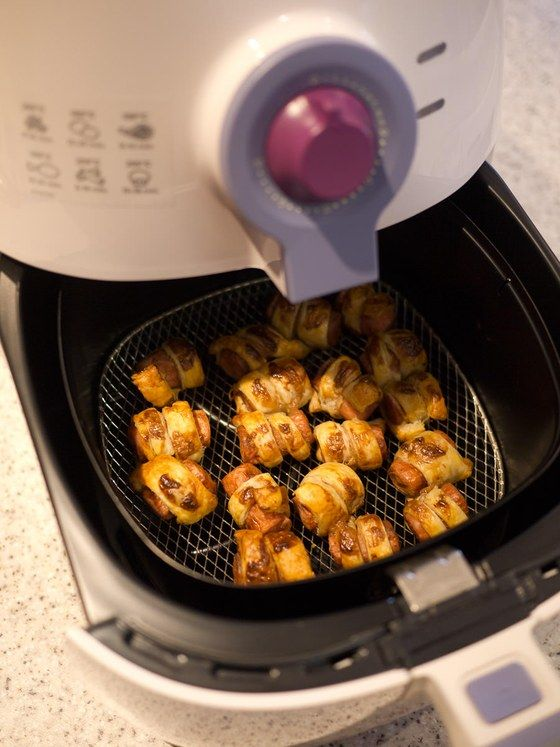 Pigs in blankets. A review of the Philips airfryer from The Food Pornographer