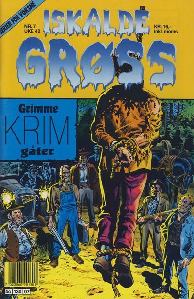Cover for Iskalde Grøss (Semic, 1982 series) #7/1990