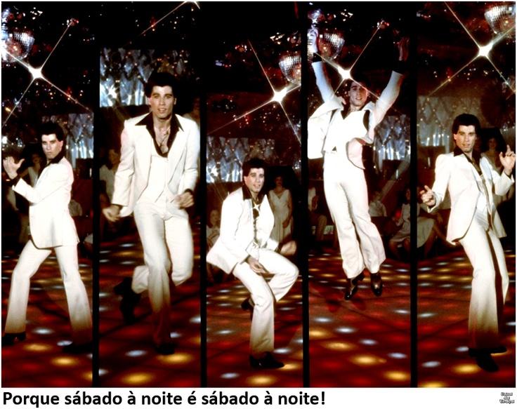 Porque sábado à noite é sábado à noite! || Saturday Night Fever / Os Embalos de Sábado à Noite || John Travolta