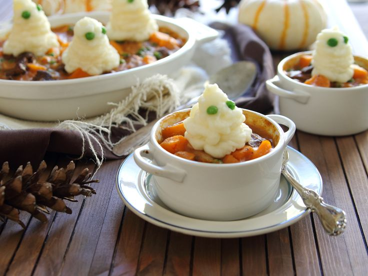 halloween baked potato skins