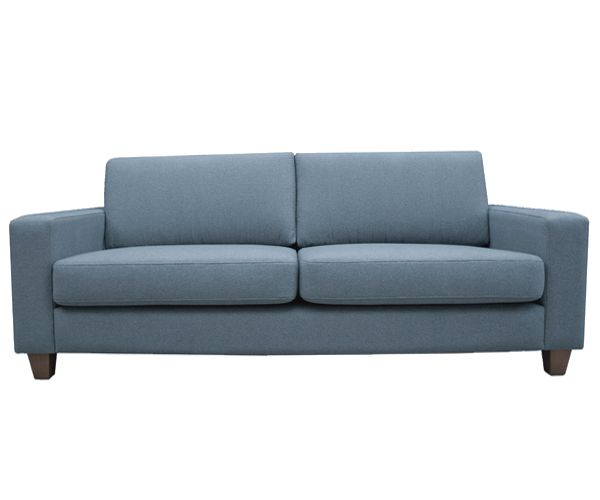 Broyhill Sofa COCO seat sofa wearing Dolly Cement