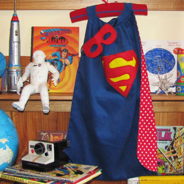Does your resident superhero need a cape