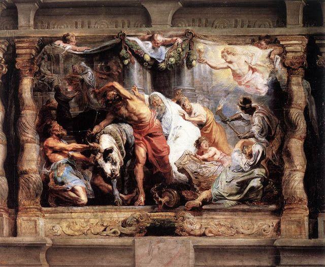 H νίκη της θείας ευχαριστίας. (1626)