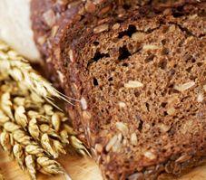 Pain de blé entiers