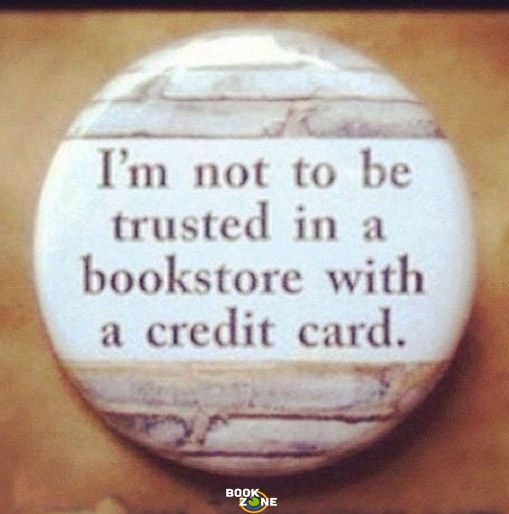 Yes this is so me my mom told me I can get any two books and I got two series of books am I evil