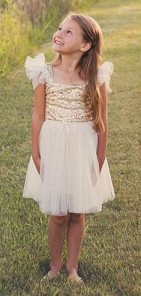 Ivory flower girl dress tulle dress for by Alluringbabybowtique, $65.99