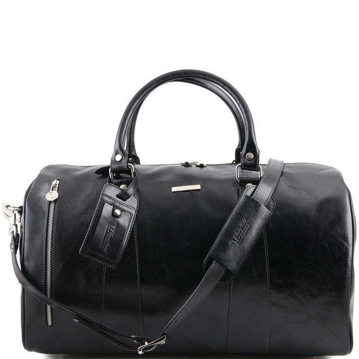 Tuscany Leather - TL Voyager - Sac de voyage en cuir Noir - TL141218/2 imsw8z