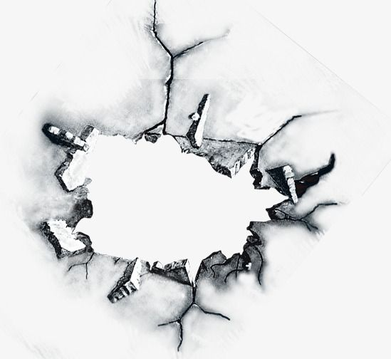 Crack Effect Element, Crack, Effect Element, Cool PNG