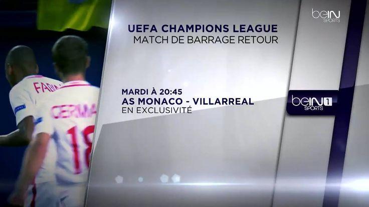 Après sa victoire au match aller à Villarreal (1-2), l'AS Monaco doit valider sa qualification pour la phase de poules de l'UEFA Champions League   > En direct et en exclusivité sur beIN SPORTS 1 dès 19H30 http://po.st/I9eoH7