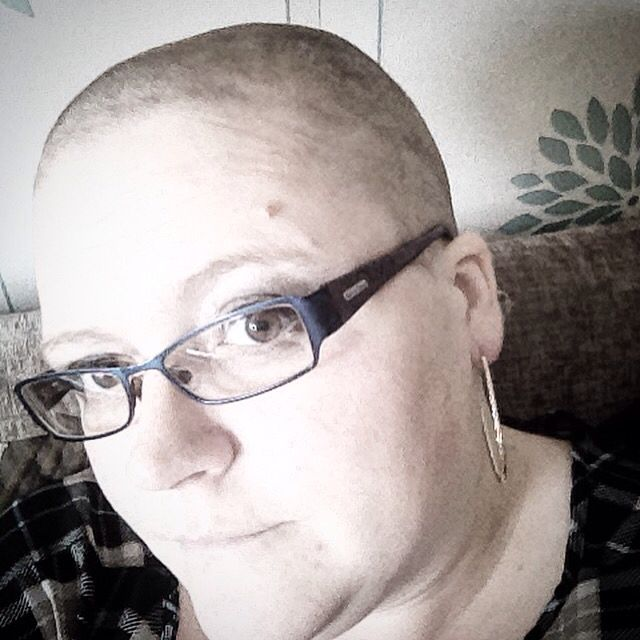 The day after my brave the shave