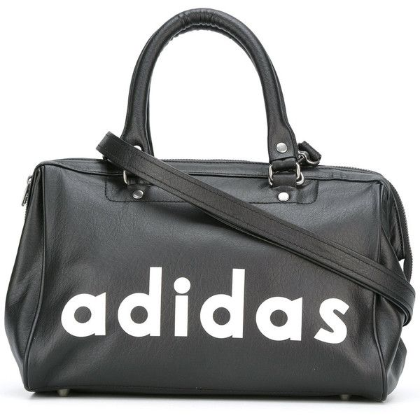 Adidas Originals logo print tote (440 ILS) ❤ liked on Polyvore featuring bags, handbags, tote bags, black, tote handbags, handbags totes, tote bag purse, tote hand bags and adidas originals