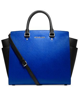 MICHAEL Michael Kors Handbag, Selma Large North South Tote - MICHAEL Michael Kors - Handbags & Accessories - Macy's