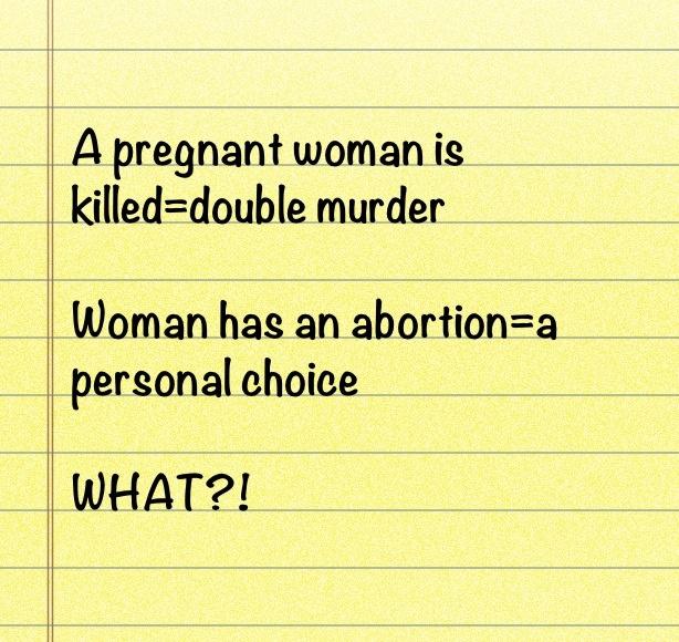 Abortion murder or necessity