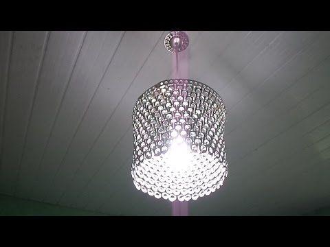 Luminária de Lacres Passo a Passo - YouTube