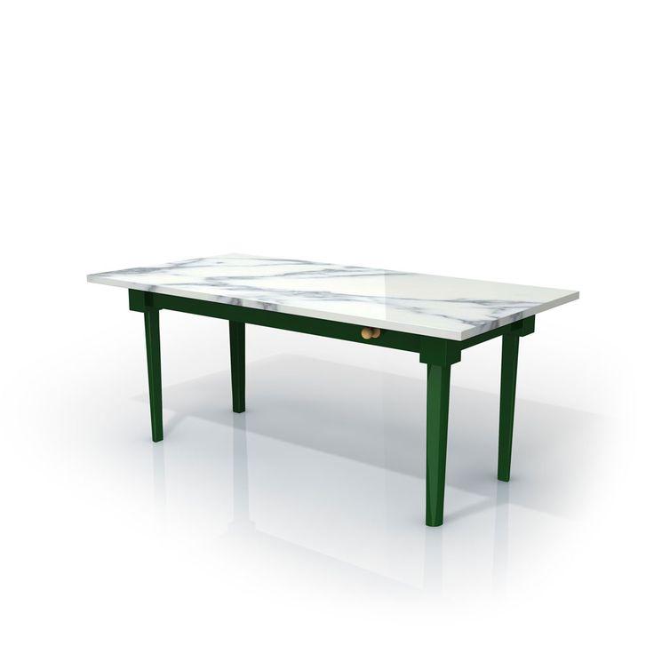Oltre 25 fantastiche idee su tavoli di marmo su pinterest - Tavolo piano marmo ...