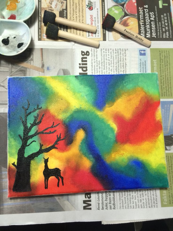 Beautiful picture painted by Laura