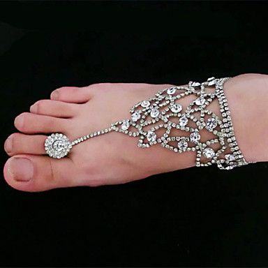 Rhinestone+Anklet+Decorative+Accents+for+Shoes(More+Colors+available)+-+USD+$+9.99