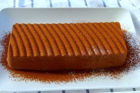la cossa dukan: Flan de queso y chocolate