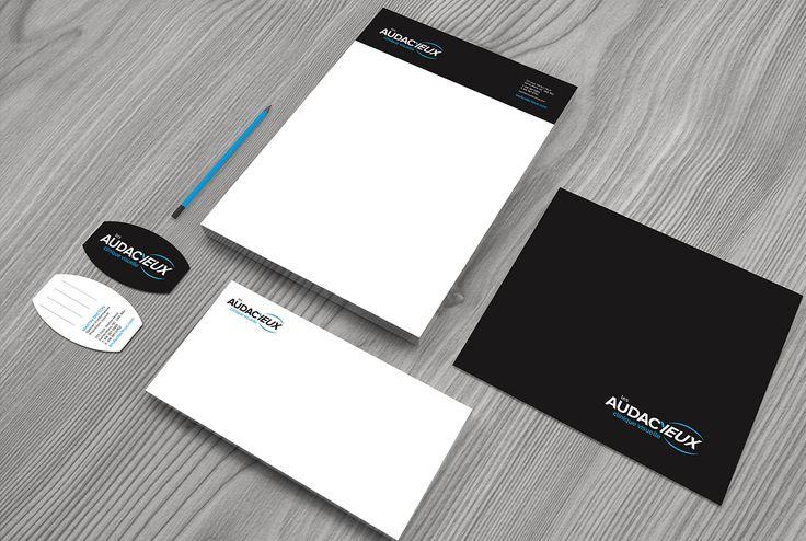 Découvrez le nouveau branding de la clinique visuelle Les AudacYeux, une réalisation de Agence TEAM.