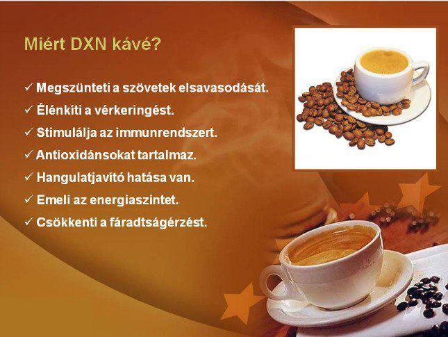 Mért DXN kávé?