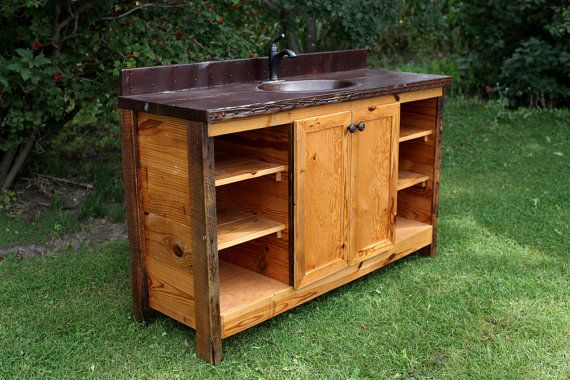 Elegant  Bathroom Vanity  Rustic Bathroom Vanities  Rustic Black Vanity
