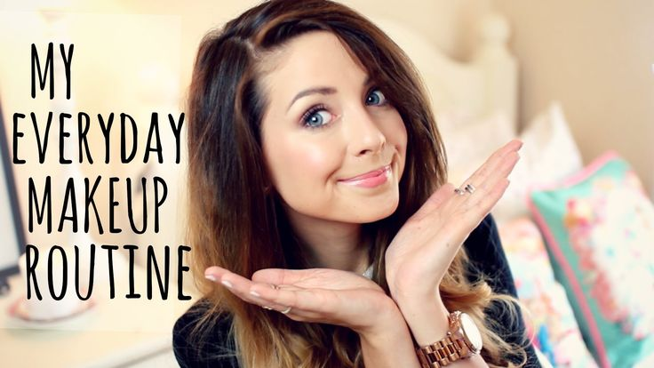 My Everyday Makeup Routine   Zoella   @Zoe James James James Sugg you have such a beautiful voice! Haha. X
