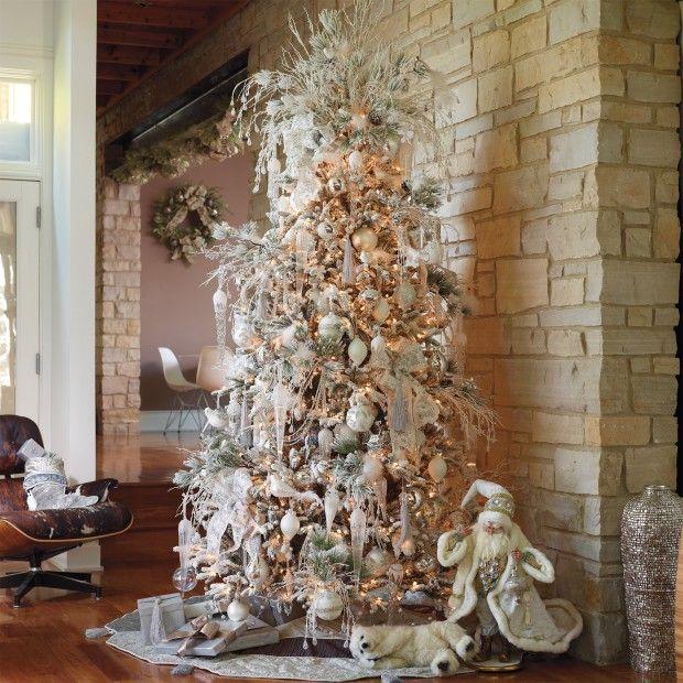 White Christmas Trees Ideas: White Christmas