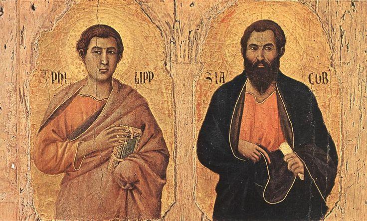 3 de Mayo Santos Felipe y Santiago, apóstoles . Antífona de entrada Estos son los santos varones a quienes eligió el Señor amorosamente y les dio una gloria eterna. Aleluya. Oración colecta Señor D…